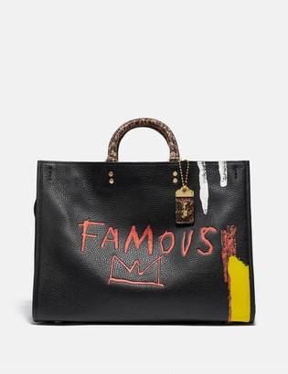 Coach X Jean-Michel Basquiat Rogue 39 With Snakeskin Detail