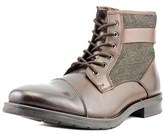 Bar III Devin Cap Toe Leather Boot.