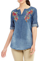 Westbound Roll Sleeve Tunic