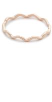 Kismet by Milka Zigzag 14k Gold Ring