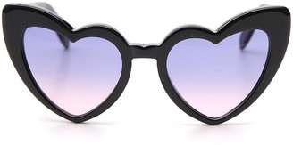Saint Laurent Eyewear New Wave LouLou Heart Sunglasses
