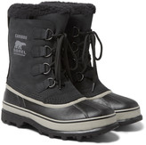 Sorel - Caribou Waterproof Nubuck And Rubber Snow Boots