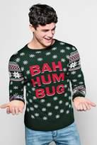 Bah Humbug Fairisle Christmas Jumper
