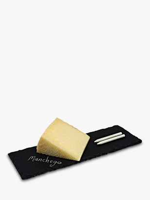 Paxton and Whitfield Slate Cheese Board & Chalk Set
