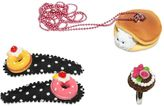 Pop Cutie Funny Cat Ring, Necklace & Hairclip Set