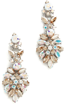 Ben-Amun Iridescent Cluster Chandelier Earrings