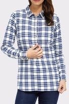 Hatley Plaid Button Down Top