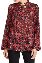 Lauren Ralph Lauren Duong Shirt, Navy/Red