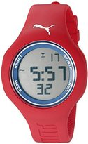 Puma Unisex PU910801040 Loop L red navy Digital Display Watch