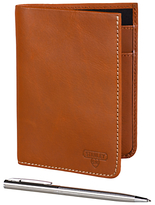 Stanley Leather Travel Wallet With Pen