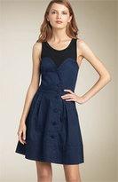 Marc by Marc Jacobs 'Sabrina' Sateen Combo Dress