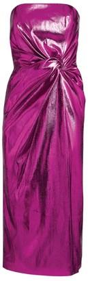 16Arlington Himawari Strapless Midi Dress