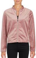 Vero Moda Velvet Varsity Jacket