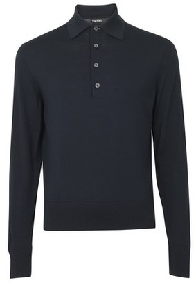 Tom Ford Long sleeves polo shirt