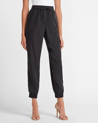 Express High Waisted Soft Drawstring Jogger Pant