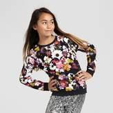 Xhilaration Girls' Floral Pullover Top L