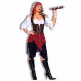 Asstd National Brand Sweet Buccaneer 4-pc. Dress Up Costume