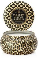 Voluspa Apricot & Aprilia 11 oz. Maison Metallo Candle