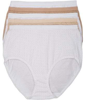 Hanes Ultra-Soft Cotton Brief 5-Pack