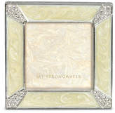 "Jay Strongwater Leland Pave Corner 2"" Square Frame"