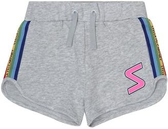 Stella McCartney Kids Cotton-jersey shorts