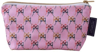 The Humble Cut Ballet Blush Cotton Cosmetic Bag - Pink