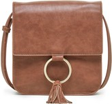 Sole Society Roe Square Crossbody with Ring Hardware