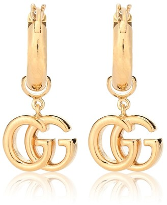 Gucci GG 18-karat gold earrings