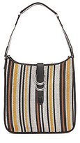 Sam Edelman Meryl Striped Woven Hobo Bag