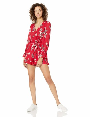Cupcakes And Cashmere Women's lilirose Printed CDC Romper