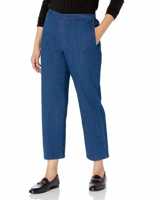 Alfred Dunner Women's Petite Proportioned Short Denim Pant 8P