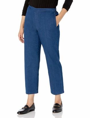 Alfred Dunner Women's Proportioned Short Denim Pant 12