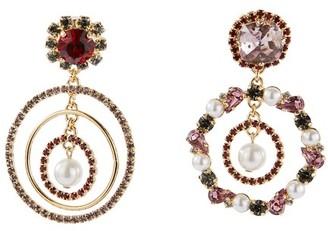 Erdem Asymmetric Hoop earrings