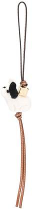 Loewe Leather Puppy Key Charm
