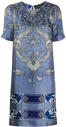 Etro Bandana print silk dress