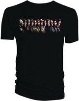 Doctor Who Classic Mens T-Shirt All Doctors War Doctor T-Shirt Xxl