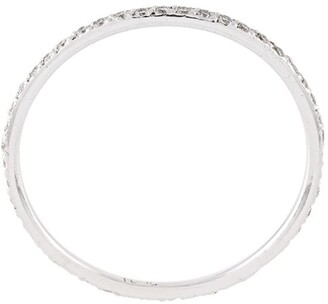 Ileana Makri Thread Band diamond ring