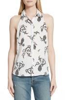 A.L.C. Women's Nette Print Silk Top