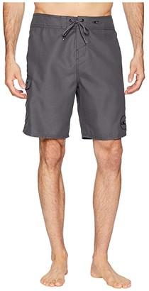 O'Neill Santa Cruz Solid 2.0 19 Boardshorts (Aqua) Men's Swimwear