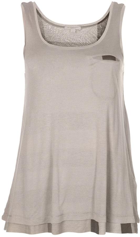 Burberry reversible vest top