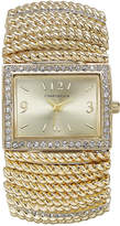 Charter Club Gold-Tone Stretch Bracelet Watch 30x34mm, Only at Macy's