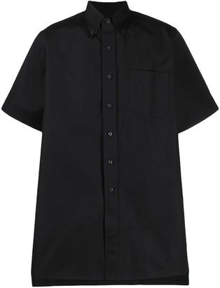 Prada Button Down Short-Sleeved Shirt