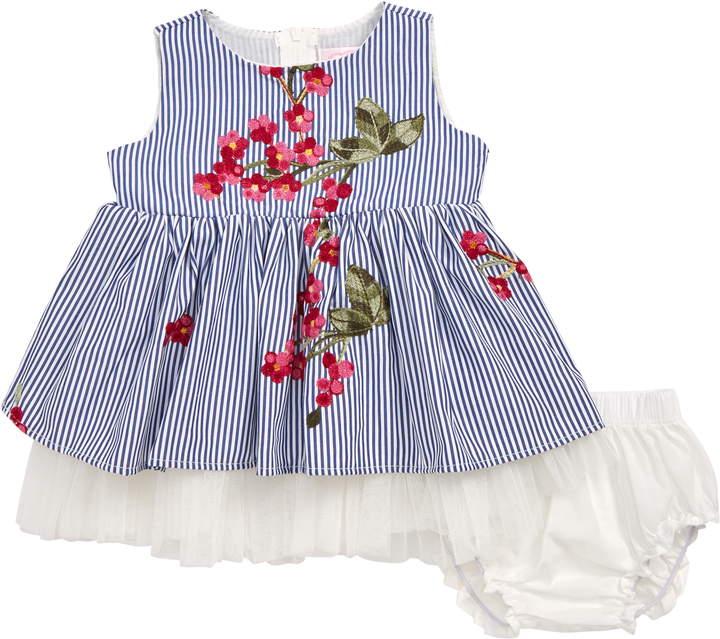 9d556e96f Girls Blue Party Dress - ShopStyle