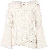 Twin-Set chunky knit jumper - women - Cotton - XS