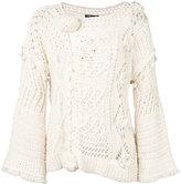 Twin-Set chunky knit jumper