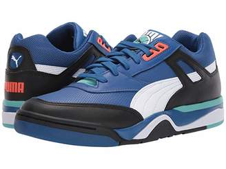 Puma Palace Guard Black White/Blue Turquoise) Men's Shoes
