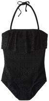 Gossip Girls' Gypsy Breeze Crochet One Piece Swimsuit (716) - 8153958