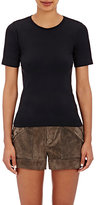 Helmut Lang Women's Stretch-Microfiber T-Shirt-BLACK