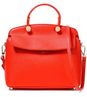 Furla My Piper Pebbled-leather Shoulder Bag