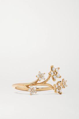 OLE LYNGGAARD COPENHAGEN Shooting Stars 18-karat Gold Diamond Ring - 52